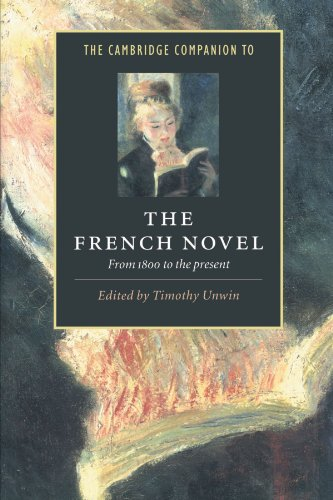 9780521499149: The Cambridge Companion to the French Novel: From 1800 to the Present