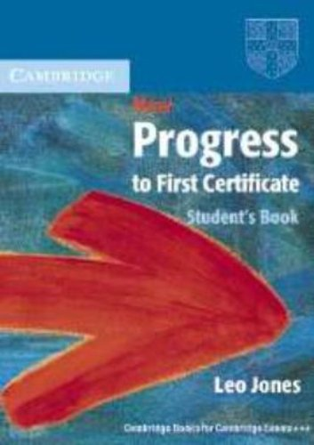 New Progress to First Certificate Student's Book: Leo Jones