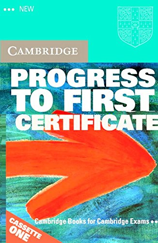 9780521499873: New Progress to First Certificate Audio Cassette Set (2 Cassettes)