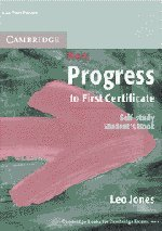 9780521499880: New Progress to First Certificate Self-study student's book