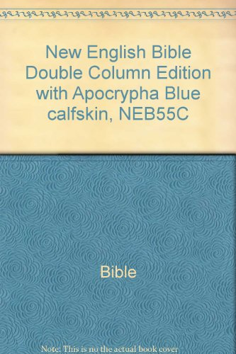 9780521503693: Title: New English Bible Double Column Edition with Apocr