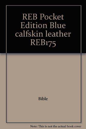 9780521507509: REB Pocket Edition Blue calfskin leather REB175