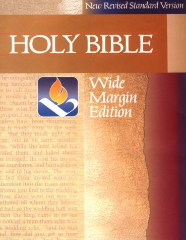 The Holy Bible: NRSV Wide-Margin Edition: Bible