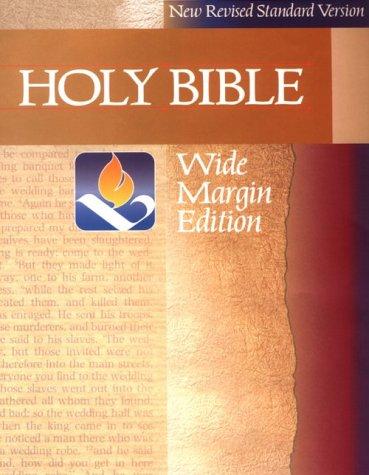 9780521507790: NRSV Wide Margin Edition: New Revised Standard Version Bible