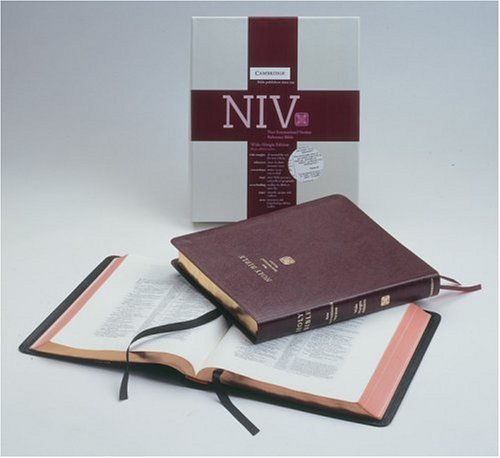 NIV Wide-Margin Burgundy bonded NIVWM202: Baker Publishing Group