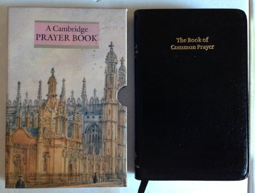 9780521508865: BCP Standard Edition Prayer Book Black bonded leather 602: Pitt Bourgeois Prayer Book