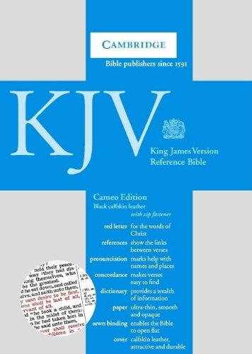 KJV Cameo Reference Edition with Concordance and Dictionary Black calfskin with zip RCD257Z (052150953X) by Cambridge University Press