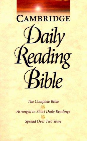 NRSV Cambridge Daily Reading Bible: Cambridge University Press