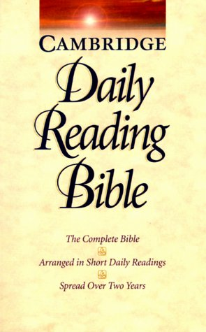9780521509541: NRSV Cambridge Daily Reading Bible