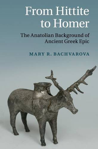 9780521509794: From Hittite to Homer: The Anatolian Background of Ancient Greek Epic