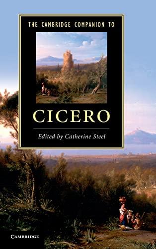 9780521509930: The Cambridge Companion to Cicero (Cambridge Companions to Literature)