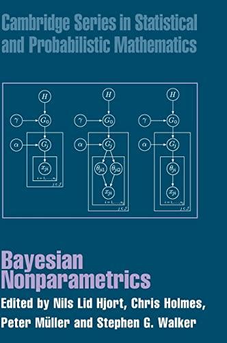 9780521513463: Bayesian Nonparametrics Hardback (Cambridge Series in Statistical and Probabilistic Mathematics)