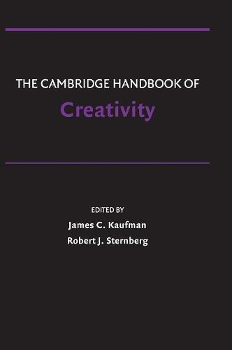 9780521513661: The Cambridge Handbook of Creativity Hardback (Cambridge Handbooks in Psychology)