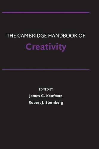 9780521513661: The Cambridge Handbook of Creativity
