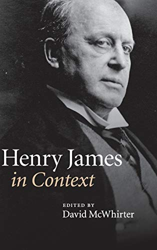 9780521514613: Henry James in Context (Literature in Context)