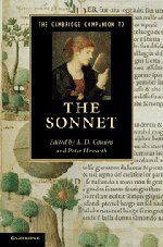 9780521514675: The Cambridge Companion to the Sonnet