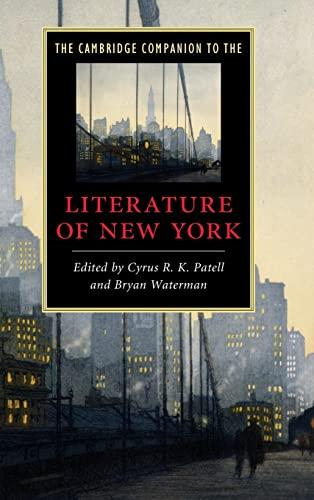 9780521514712: The Cambridge Companion to the Literature of New York (Cambridge Companions to Literature)