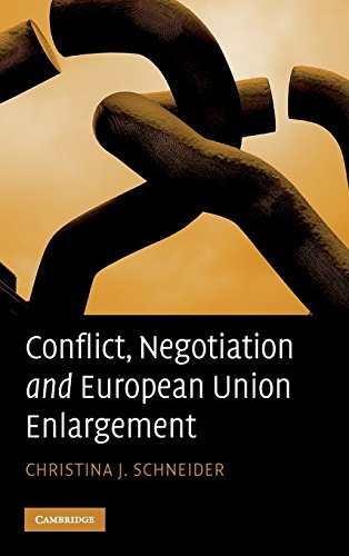 9780521514811: Conflict, Negotiation and European Union Enlargement