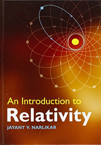 9780521514972: An Introduction to Relativity Hardback