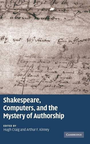 9780521516235: Shakespeare, Computers, and the Mystery of Authorship