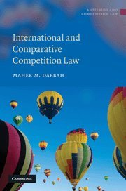 9780521516419: International and Comparative Competition Law (Antitrust and Competition Law)