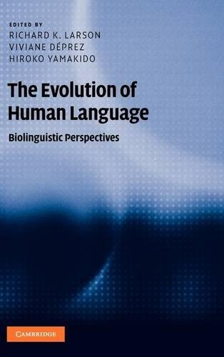 9780521516457: The Evolution of Human Language: Biolinguistic Perspectives (Approaches to the Evolution of Language)