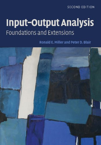 9780521517133: Input-Output Analysis: Foundations and Extensions