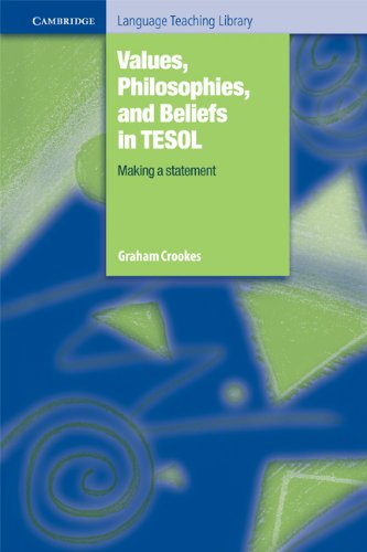 9780521517485: Values, Philosophies, and Beliefs in TESOL: Making a Statement (Cambridge Language Teaching Library)