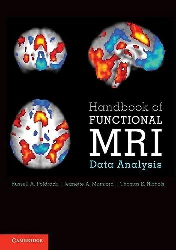 9780521517669: Handbook of Functional MRI Data Analysis