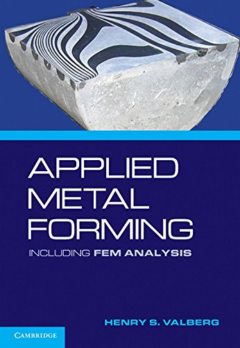 9780521518239: Applied Metal Forming: Including FEM Analysis
