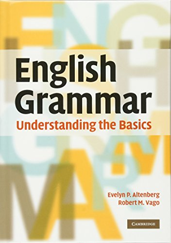 9780521518321: English Grammar: Understanding the Basics