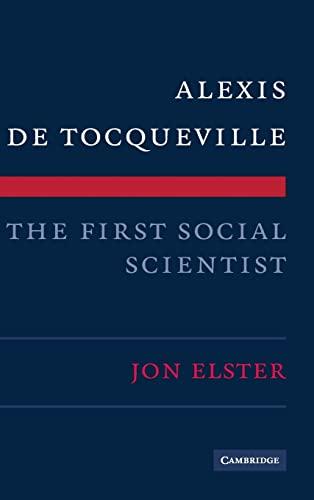 9780521518444: Alexis de Tocqueville, the First Social Scientist