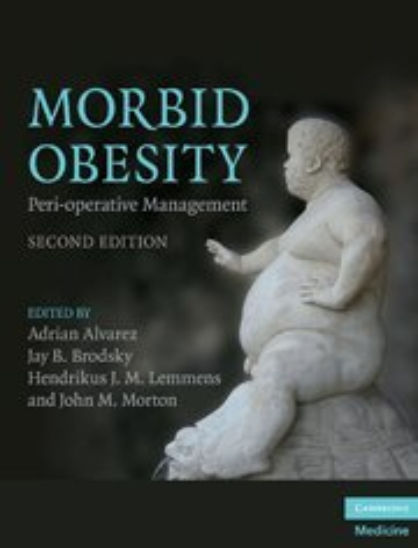 9780521518840: Morbid Obesity: Peri-operative Management (Cambridge Medicine (Hardcover))