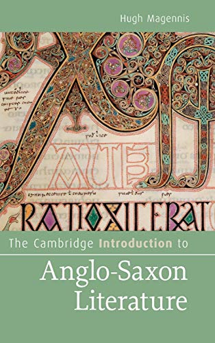 9780521519472: The Cambridge Introduction to Anglo-Saxon Literature