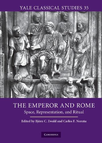 9780521519533: The Emperor and Rome: Space, Representation, and Ritual (Yale Classical Studies)