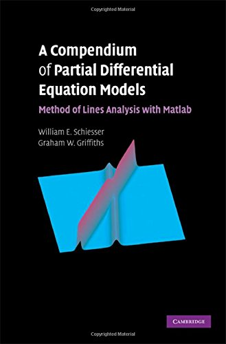 9780521519861: A Compendium of Partial Differential Equation Models: Method of Lines Analysis with Matlab