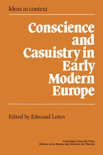9780521520201: Conscience and Casuistry in Early Modern Europe (Ideas in Context)