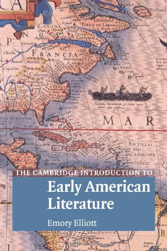 9780521520416: The Cambridge Introduction to Early American Literature (Cambridge Introductions to Literature)