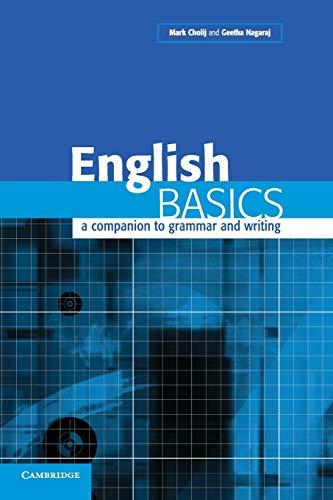 9780521520607: English Basics International Edition: A Companion to Grammar and Writing