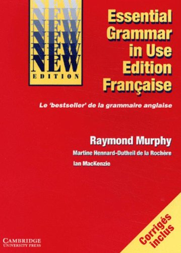 9780521520614: Essential Grammar in Use French edition: Grammaire de Base de la Langue Anglaise (Grammar in Use Grammar in Use)