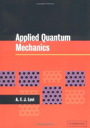 9780521520867: Applied Quantum Mechanics