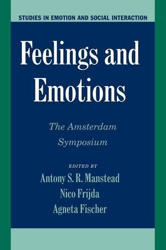 9780521521017: Feelings and Emotions: The Amsterdam Symposium (Studies in Emotion and Social Interaction)