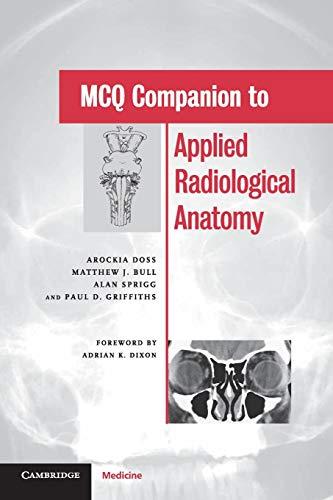 9780521521536: MCQ Companion to Applied Radiological Anatomy