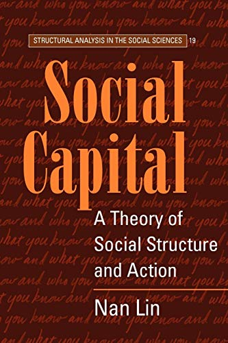9780521521673: Social Capital: A Theory of Social Structure and Action (Structural Analysis in the Social Sciences)