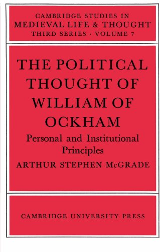 9780521522243: The Political Thought of William Ockham (Cambridge Studies in Medieval Life and Thought: Third Series)
