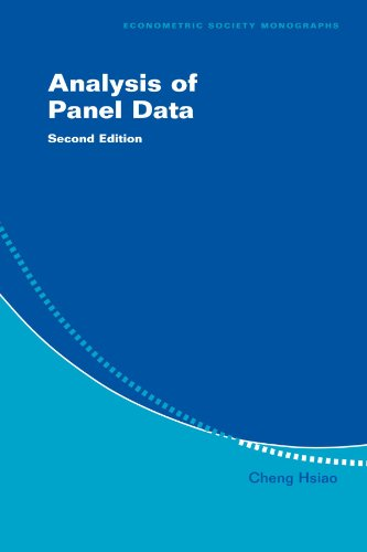 9780521522717: Analysis of Panel Data (Econometric Society Monographs)