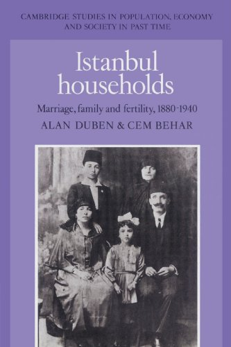 9780521523035: Istanbul Households: Marriage, Family and Fertility, 1880-1940 (Cambridge Studies in Population, Economy and Society in Past Time)