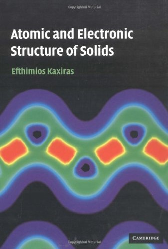 9780521523394: Atomic and Electronic Structure of Solids