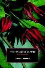 9780521523400: The Names of Plants