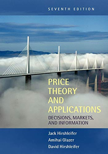 9780521523424: Price Theory and Applications 7th Edition Paperback: Decisions, Markets, and Information